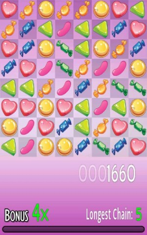 Android Candy Match Screen 3