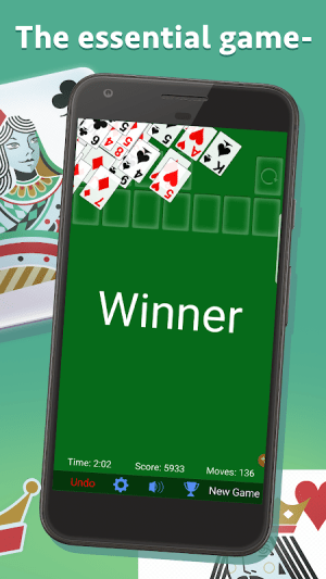 Solitaire 3.6.0.3 Screen 2