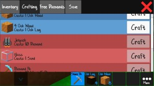 Android Skyblock Craft Screen 1
