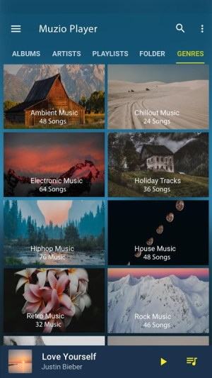 Android Music Player - MP3 Player Screen 5