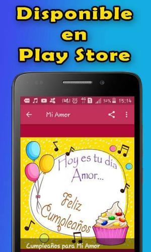 Android Feliz Cumpleaños Screen 7