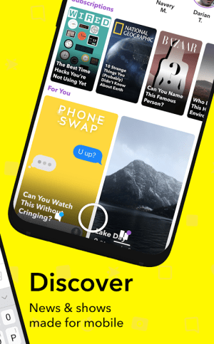 Snapchat 10.55.0.0 Beta Screen 3