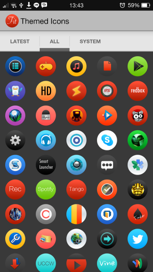 Fit - Icon Pack 1.01 Screen 3