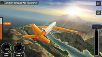 Flight Pilot Simulator 3D Free Screen