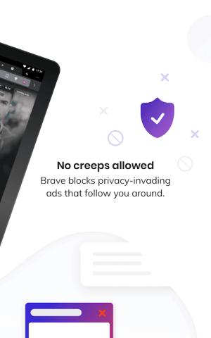 Brave Privacy Browser: Fast, safe, private browser 1.5.4 Screen 3