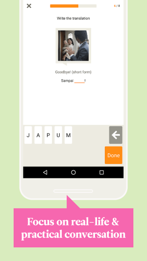 Babbel – Learn Indonesian 20.9.0 Screen 1