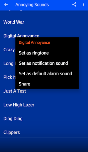Annoying Sounds Free 4.0 Screen 2