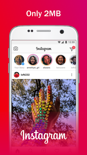 Instagram Lite 216.0.0.10.121 Screen 2