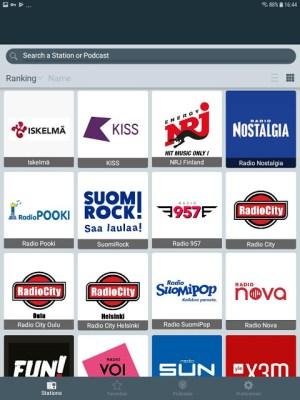 Radio Suomi - Internet Radio, FM Radio 2.3.12 Screen 9