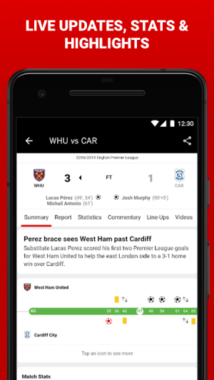 Android ESPN Screen 3