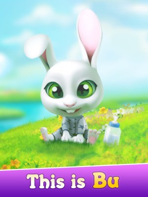 Android Bu the Baby Rabbit - Virtual pets care game Screen 9