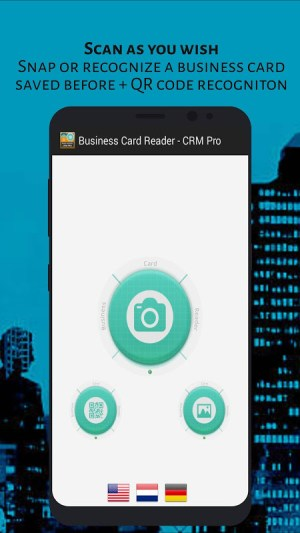 Android Business Card Reader - CRM Pro Screen 3