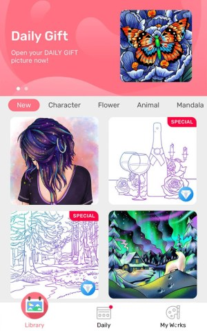 Paint By Number - Free Coloring Book & Puzzle Game 1.16.7 Screen 12
