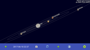 Sun, moon and planets 1.6.3e Screen 2