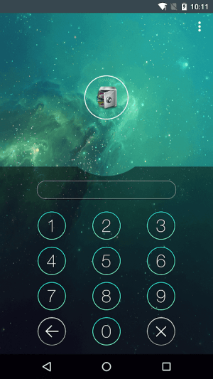 Android AppLock Screen 5