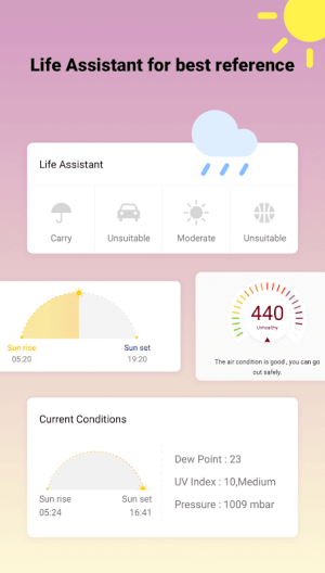 Android Weather Forecast - World Weather Accurate Radar Screen 3