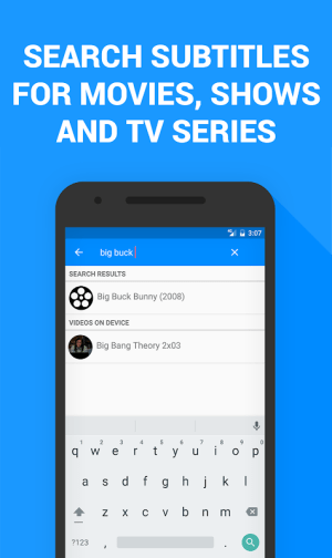 Subtitles for Movies & TV Series 1.3.1 Screen 3