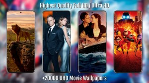 Awesome Movie Wallpapers S20 - HD / 4K Posters 2.08 Screen 6