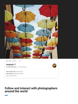 500px – Photography 6.2.2 Screen 6