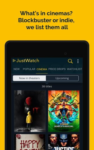 JustWatch - Search Engine for Streaming and Cinema 2.5.13 Screen 17