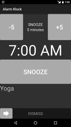 Alarm Klock 1.10 Screen 2