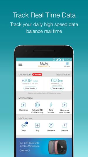 MyJio 4.1.03 Screen 4