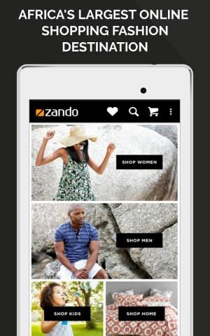 Online Fashion Shopping Zando 1.2.0 Screen 16