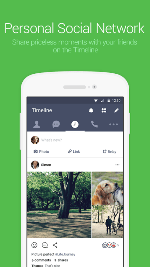 LINE: Free Calls & Messages 9.10.0 Screen 4