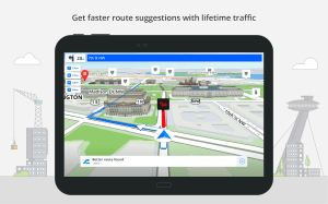 GPS Navigation & Maps Sygic 18.4.2 Screen 2