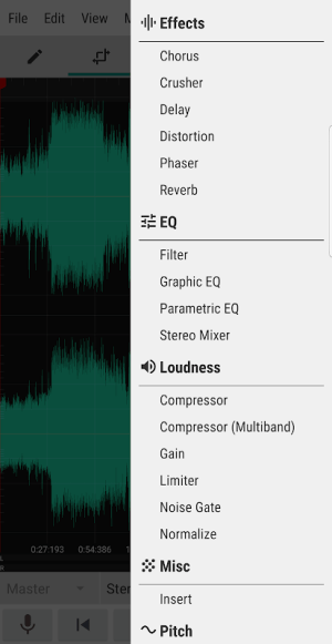 WaveEditor for Android™ Audio Recorder & Editor 1.82 Screen 14