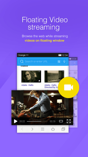 Android DU Browser—Browse fast & fun Screen 3