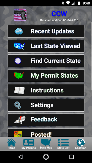 CCW – Concealed Carry 50 State 3.4.10 Screen 3