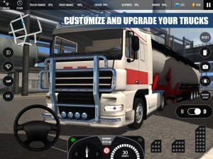 Android Truck Simulator PRO Europe Screen 8