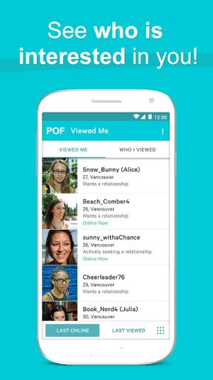 POF Free Dating App 3.94.0.1418971 Screen 6