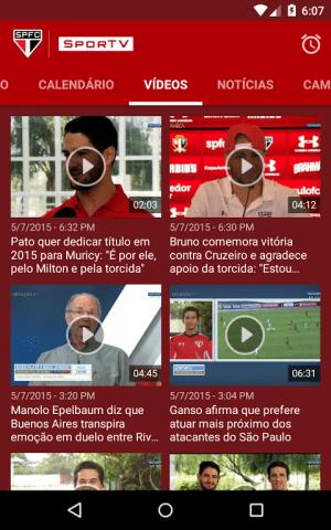 São Paulo SporTV 3.2.8 Screen 4