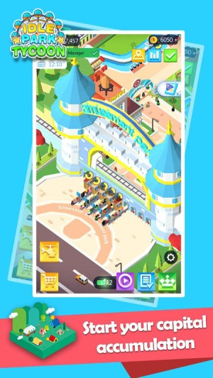 Android Idle Park Tycoon Screen 2