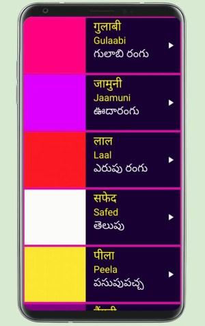 Learn Hindi from Telugu 19 Screen 4
