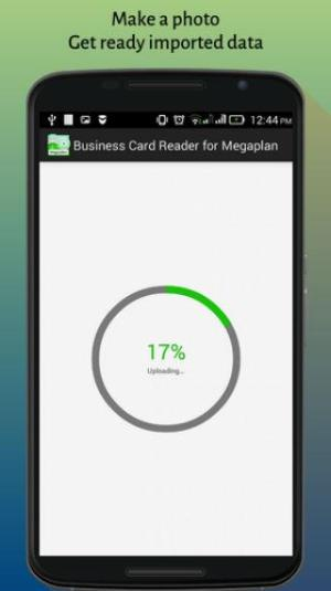 Business Card Reader Megaplan CRM 1.1.147c Screen 1