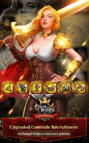 Clash of Kings : Newly Presented Knight System 6.11.0 Screen 3