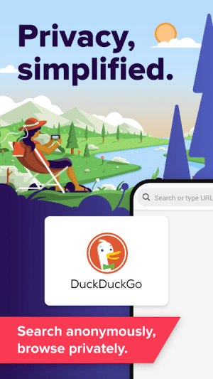 DuckDuckGo Privacy Browser 5.34.0 Screen 2