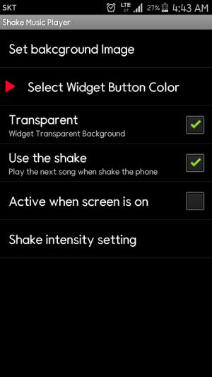 Shake Music Player 1.0.12 Screen 7