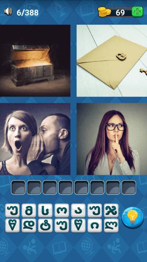 4 ფოტო 1 სიტყვა 1.2 Screen 8