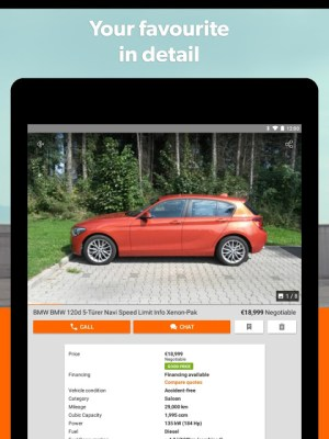 mobile.de – Germany's largest car market 7.27.1 Screen 11