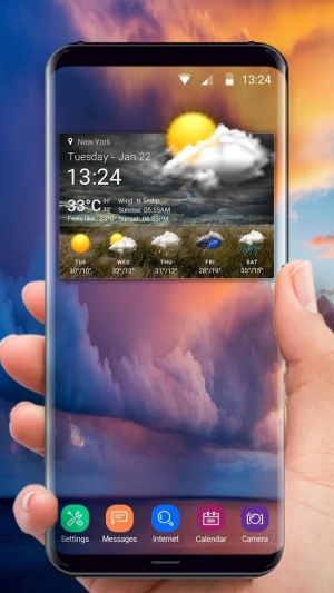 Accurate Weather Report Pro 16.6.0.47610_47610 Screen 1