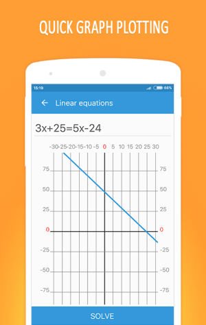 Android Math Equation Solver Screen 2