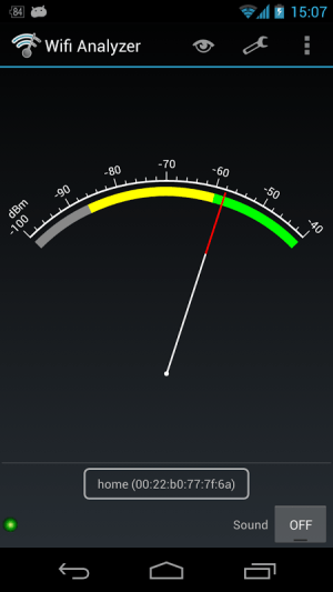 Wifi Analyzer 3.5.2 Screen 2