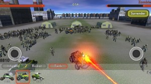 Android Zombie War Dead World 2 Screen 2