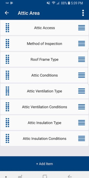 Android EZ Home Inspection Software Mobile Screen 3