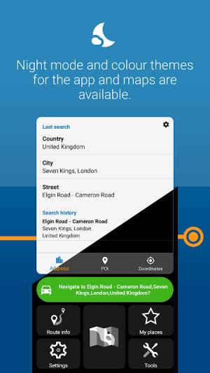 MapFactor GPS Navigation Maps 6.0.220 Screen 3