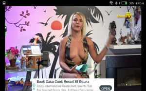 Android Jenny Live TV Screen 2